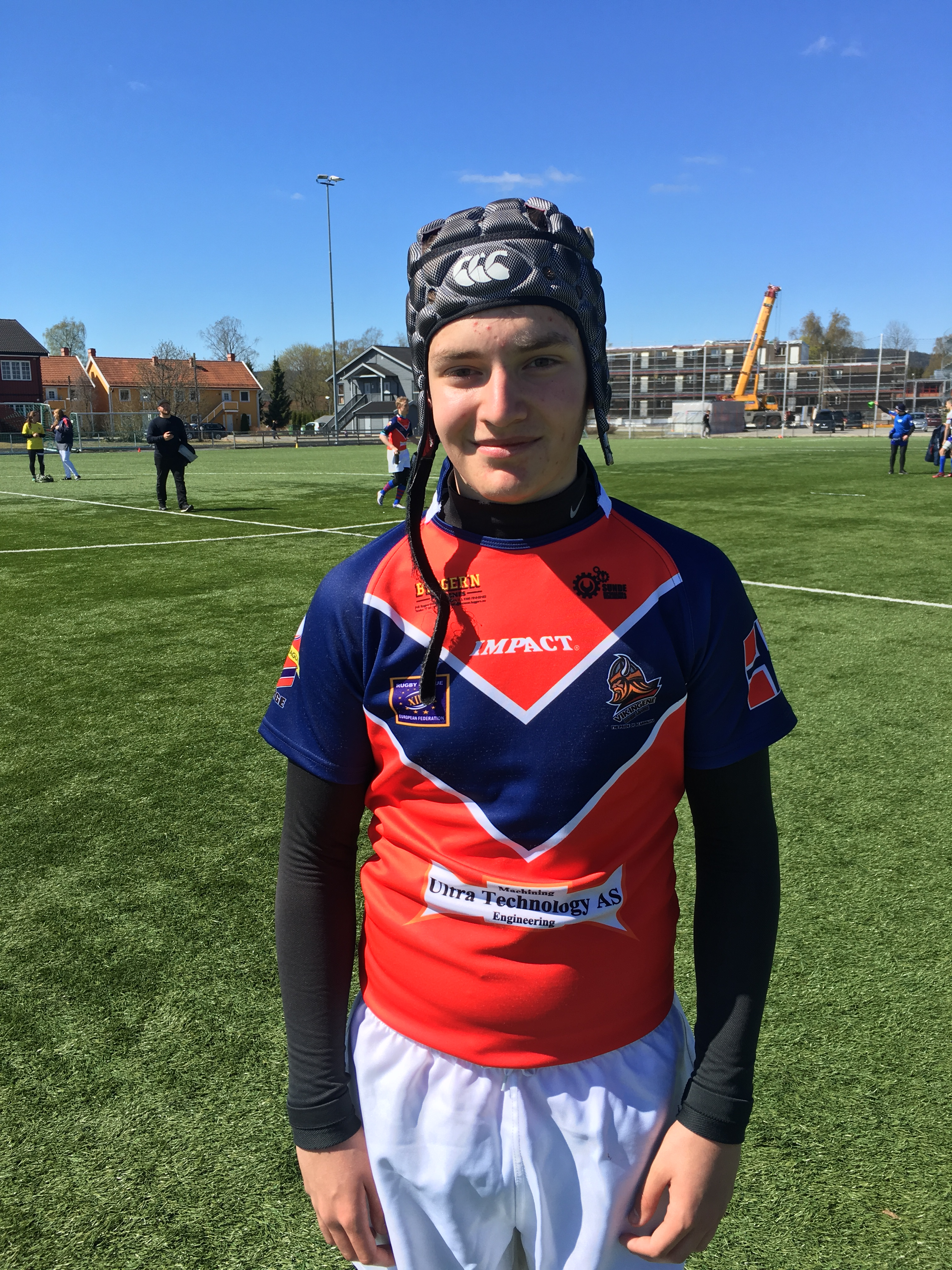 KRISTIAN DEBUTS FOR NORWAY