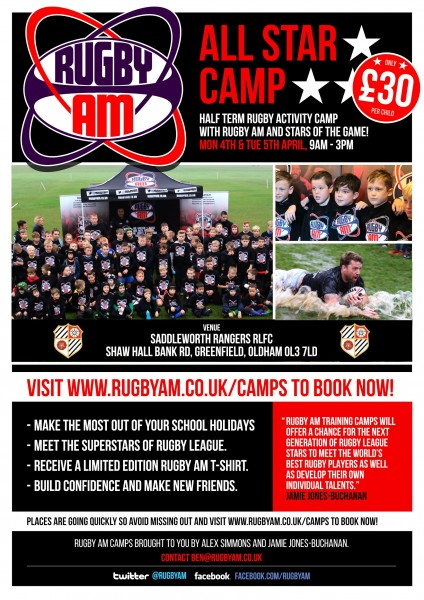 All Star rugby camp comes to Rangers