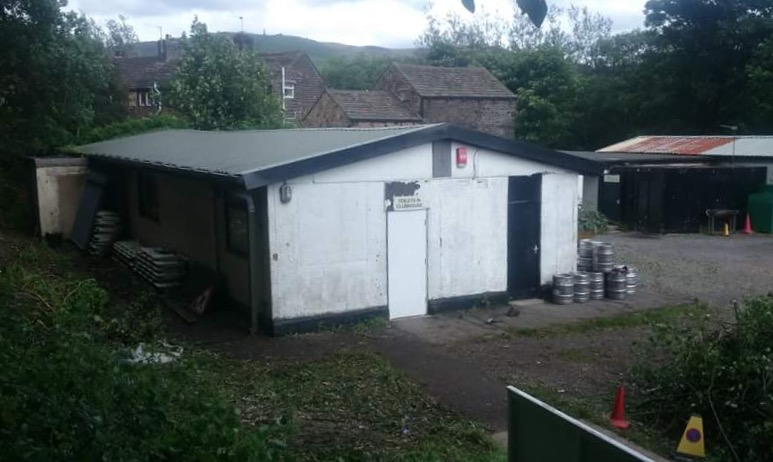 CLUBHOUSE REBUILD CLOSES IN