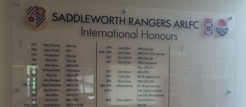 HONOURS BOARD IS UNVEILED