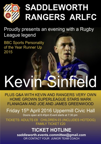 An Evening with Kevin Sinfield